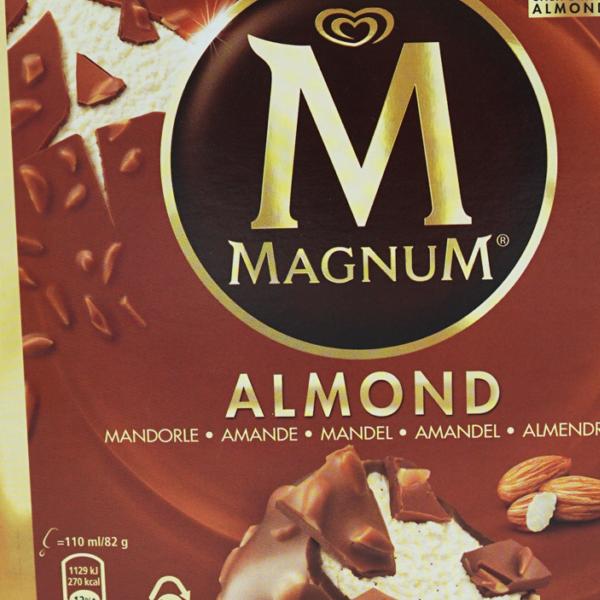 Magnum Glace Almond 6 Stk.