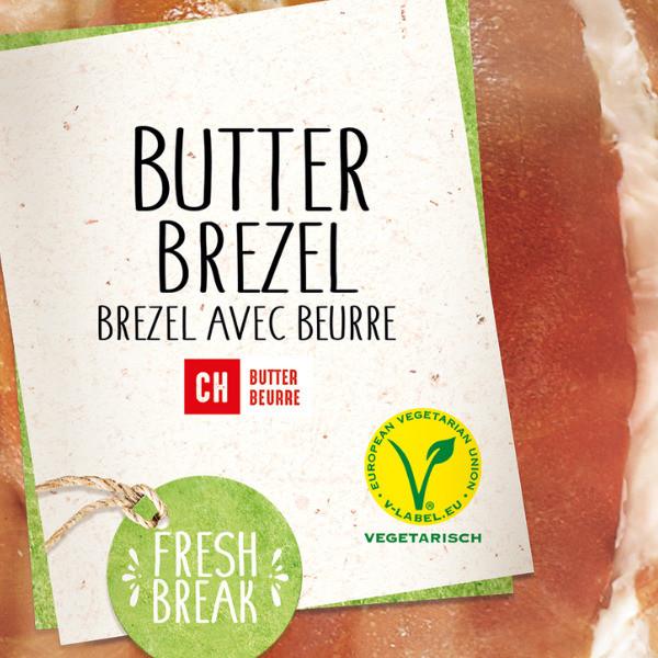 Butterbretzel