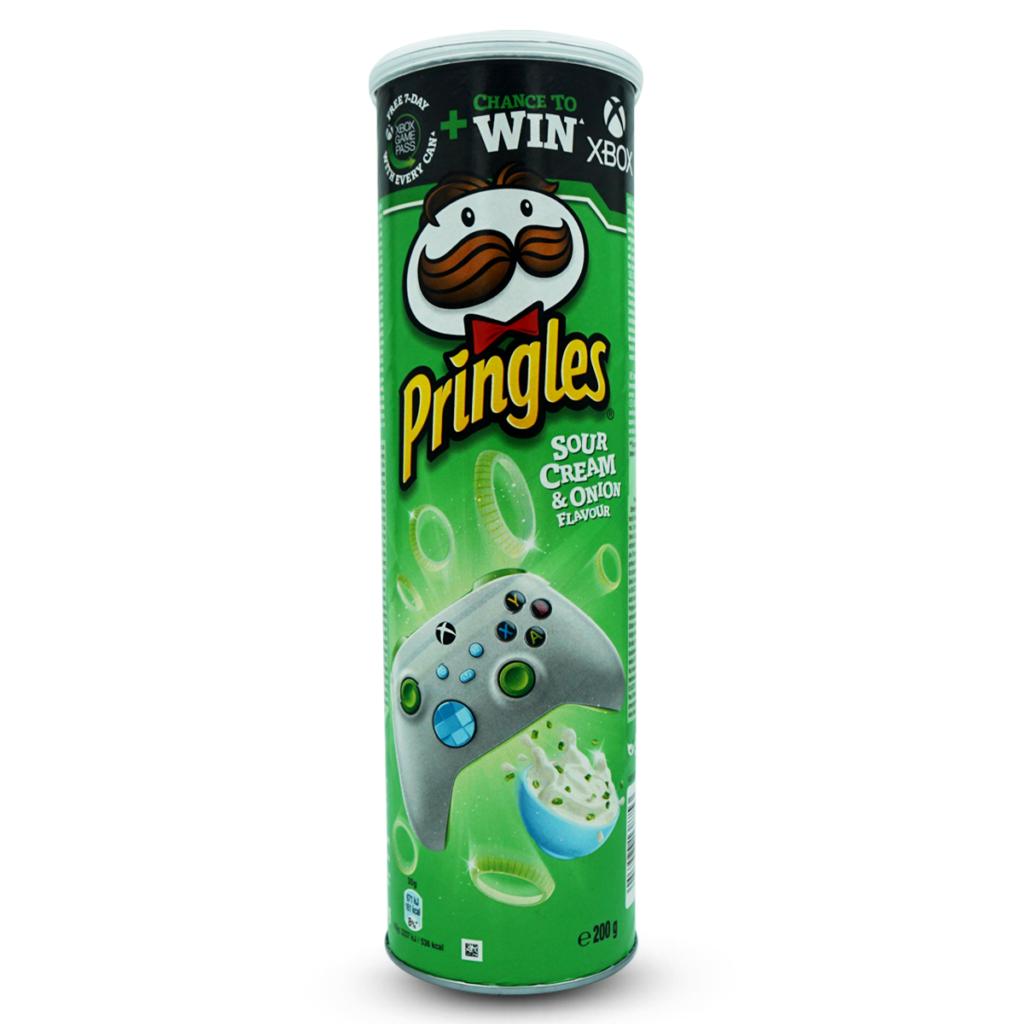 Pringles Sour Cream & Onion Chips