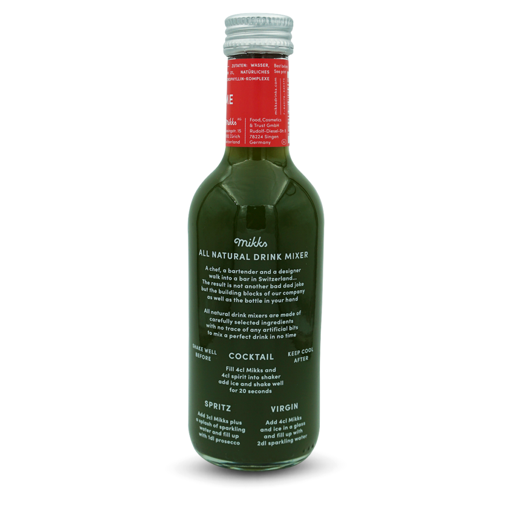Mikks BASIL LIME (6-8 Drinks)