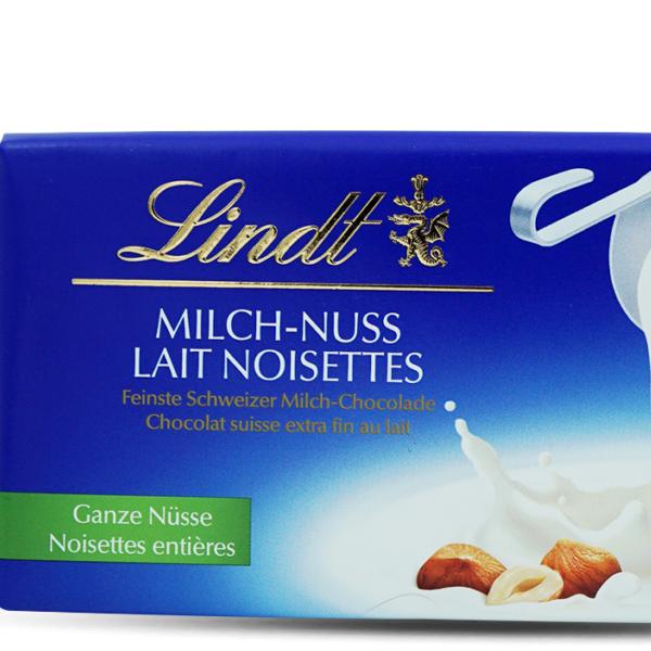 Lindt Tafelschokolade Milch & Nuss