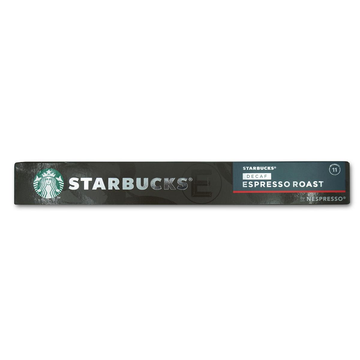 Starbucks Nespresso Espresso Decaf. 10 Kap.