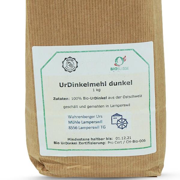 Mühle Lamperswil Bio UrDinkelmehl Dunkel