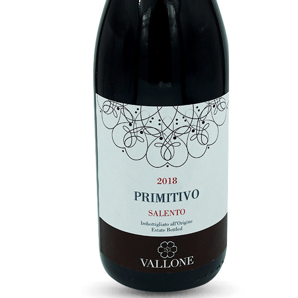 Primitivo Salento IGP - Vallone 2018