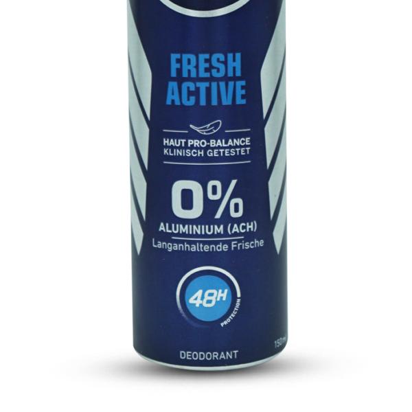 Nivea Men Fresh Active Spray Deodorant