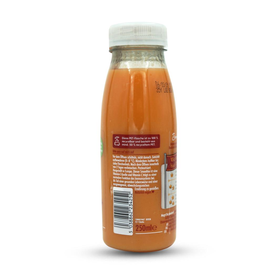 Innocent Smoothie Orangen, Karotten & Mangos