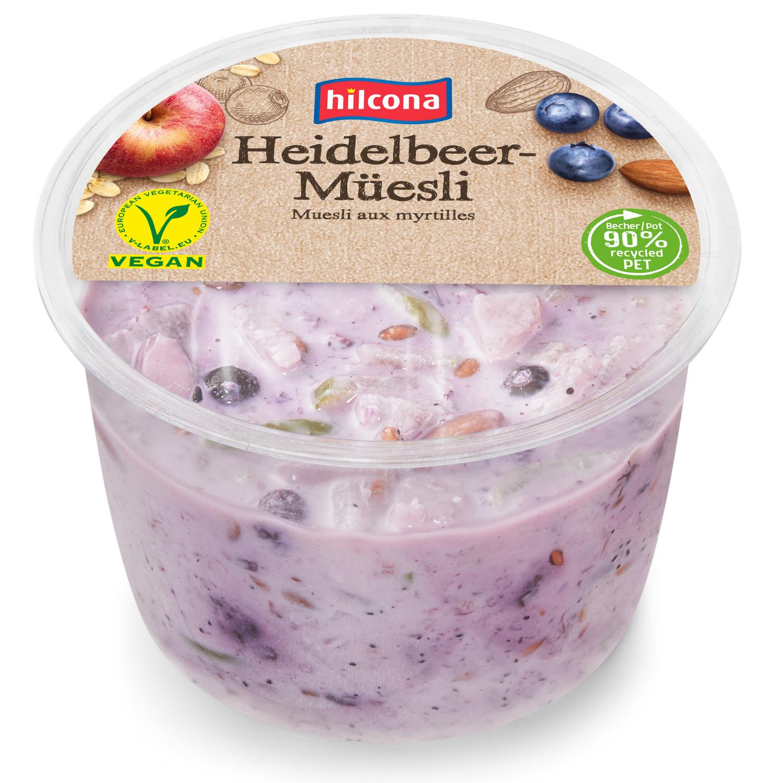 Heidelbeer-Müsli