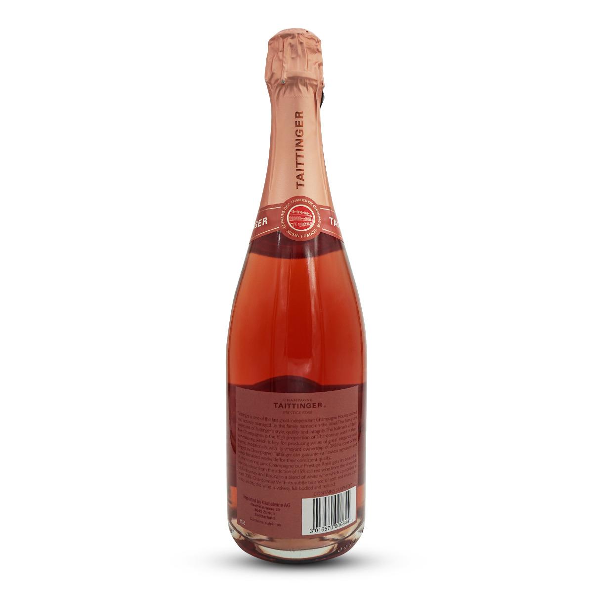 Taittinger Champagne Brut Prestige Rosé AOC