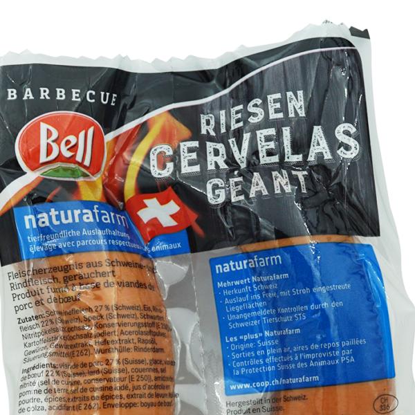 Bell Naturafarm Riesen-Cervelas 2 Stk.