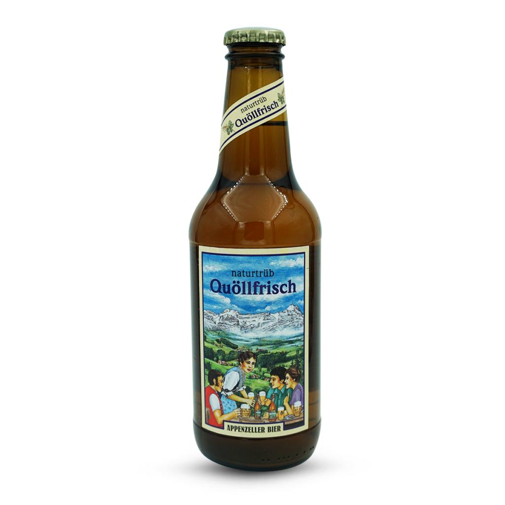 Appenzeller Quöllfrisch Naturtrüb Bier