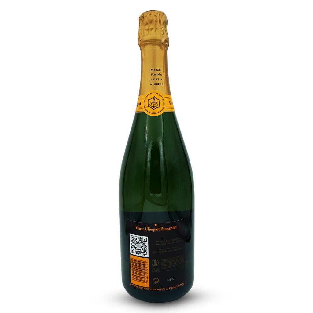 Champagne Veuve Clicquot Yellow Label Brut