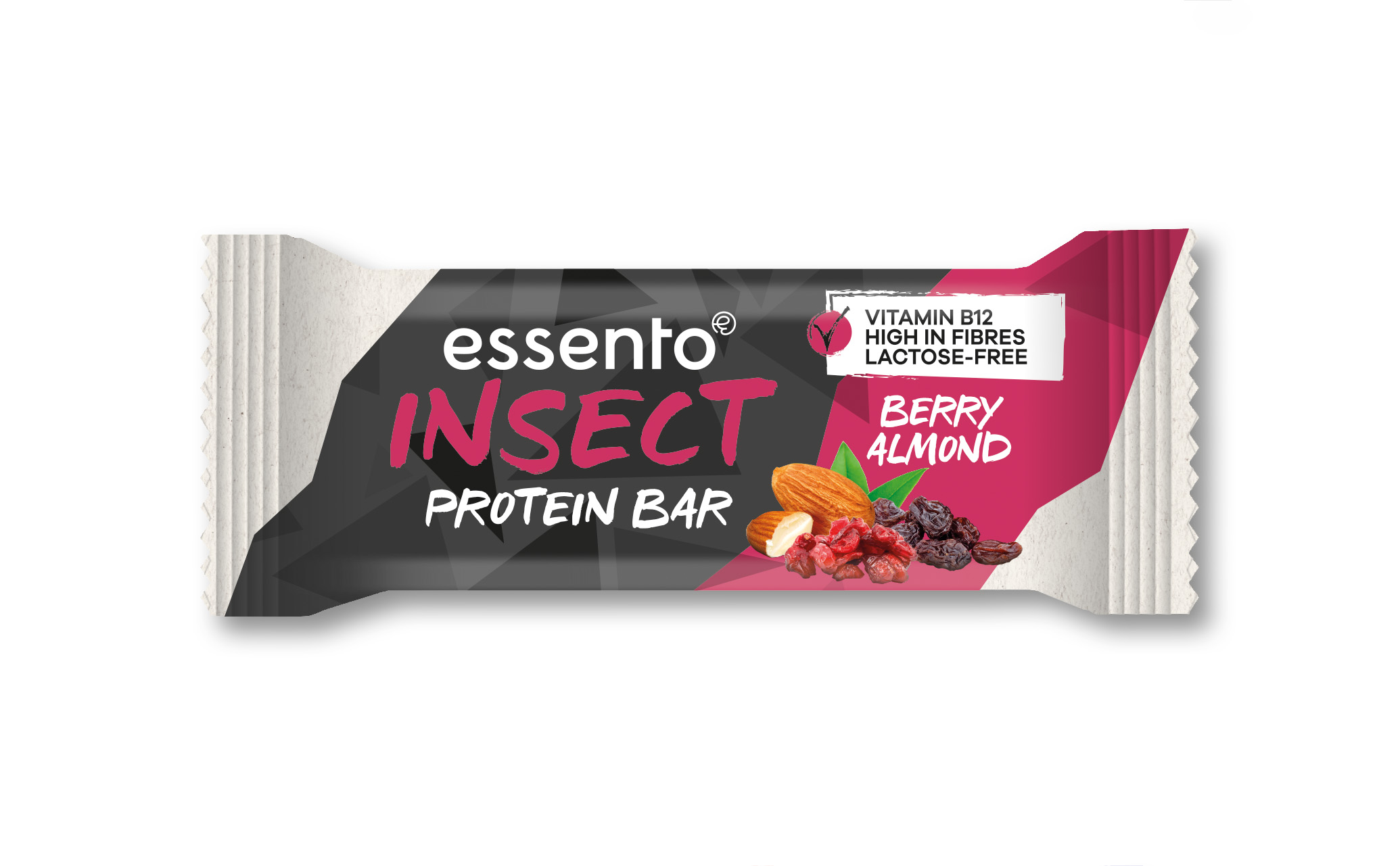 Essento Insect Protein Riegel - Berry Almond