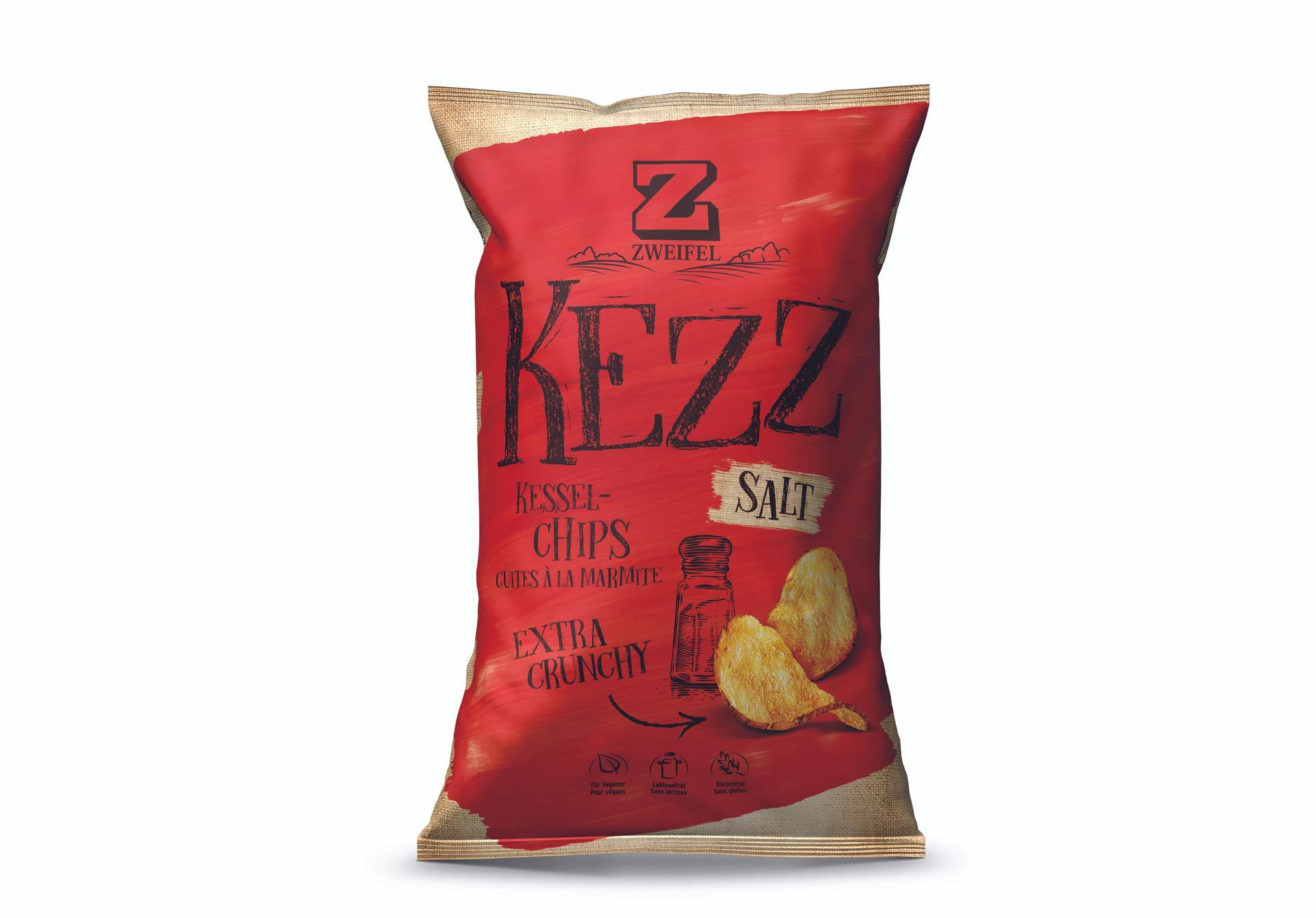 Zweifel KEZZ Extra Crunchy Chips Salt