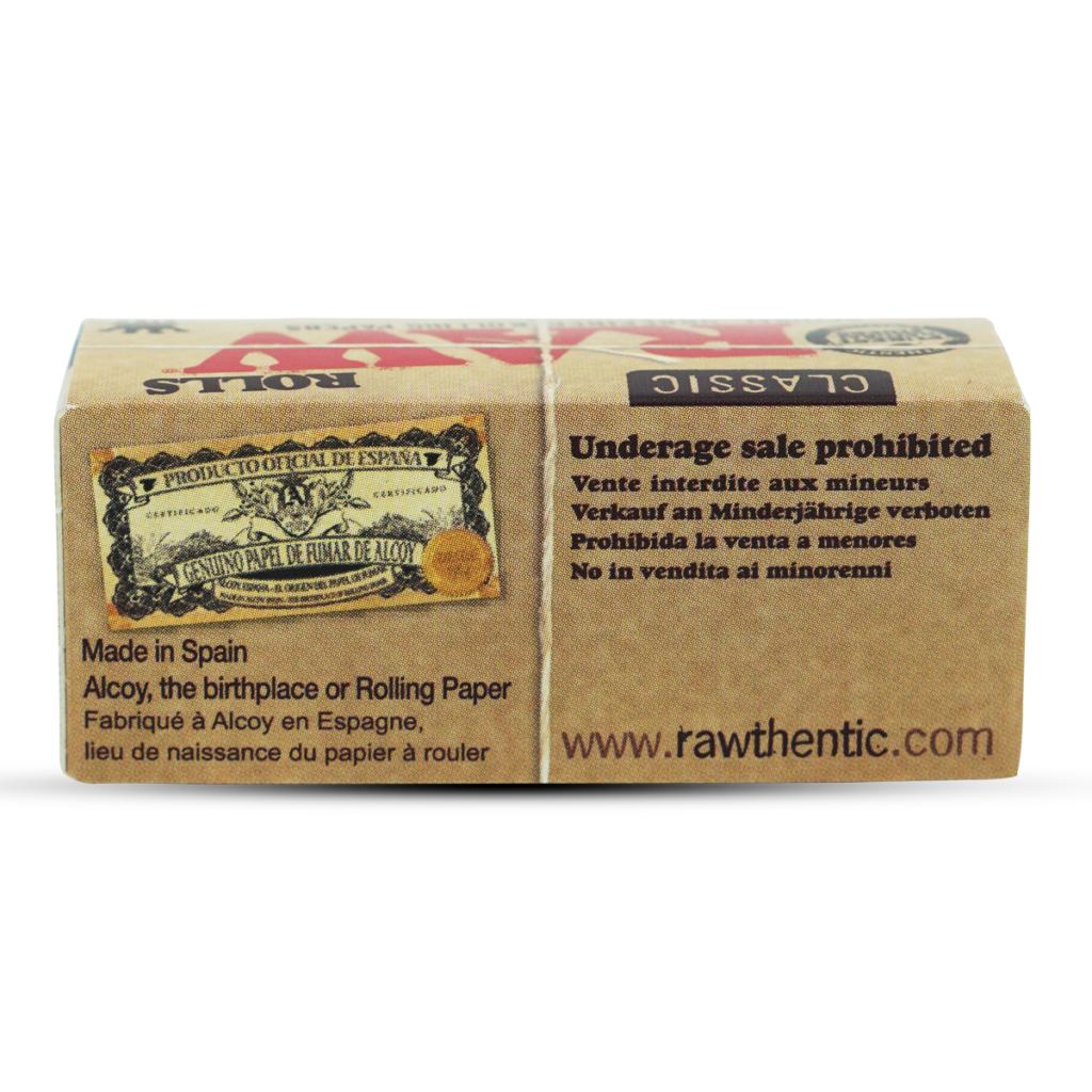 RAW Classic Rolls Slim, 3m- 100% Natural