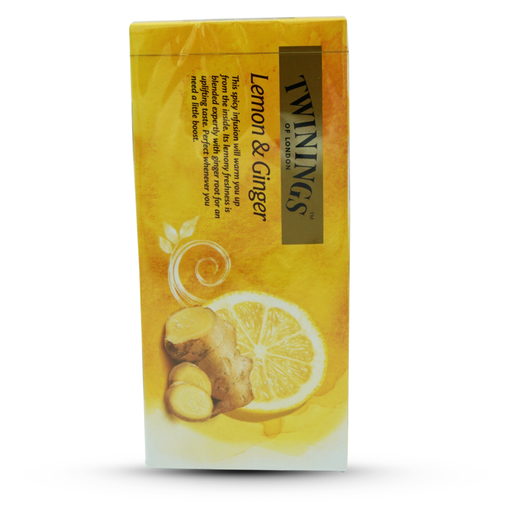 Twinings Tee Zitrone & Ingwer 25 Beutel