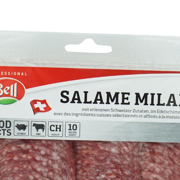 Bell Salami Milano geschnitten