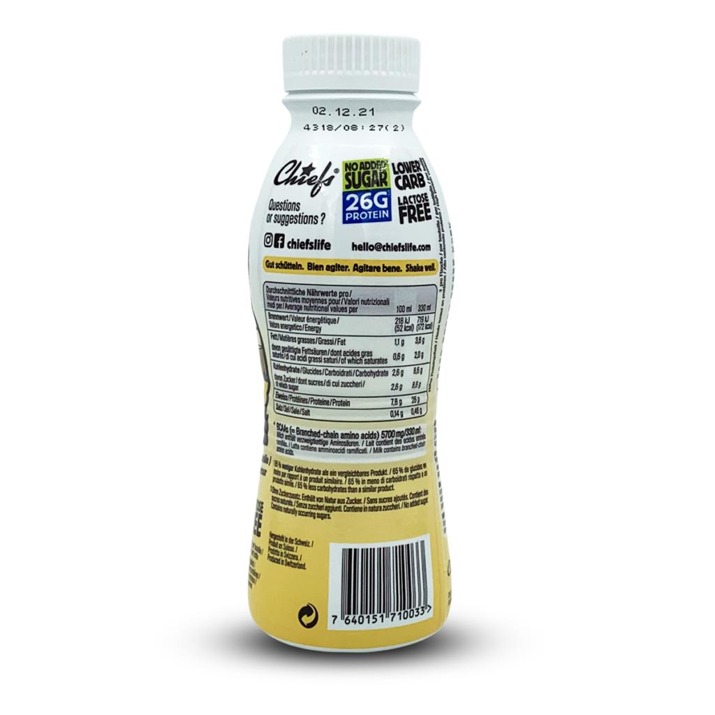 Chiefs Protein Milk Vanilla Drive