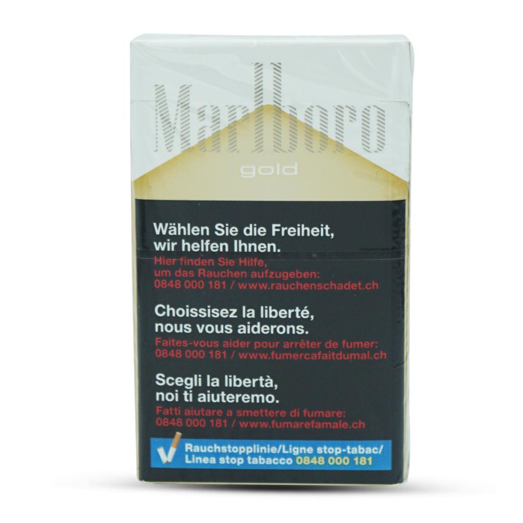 Marlboro Zigaretten Gold