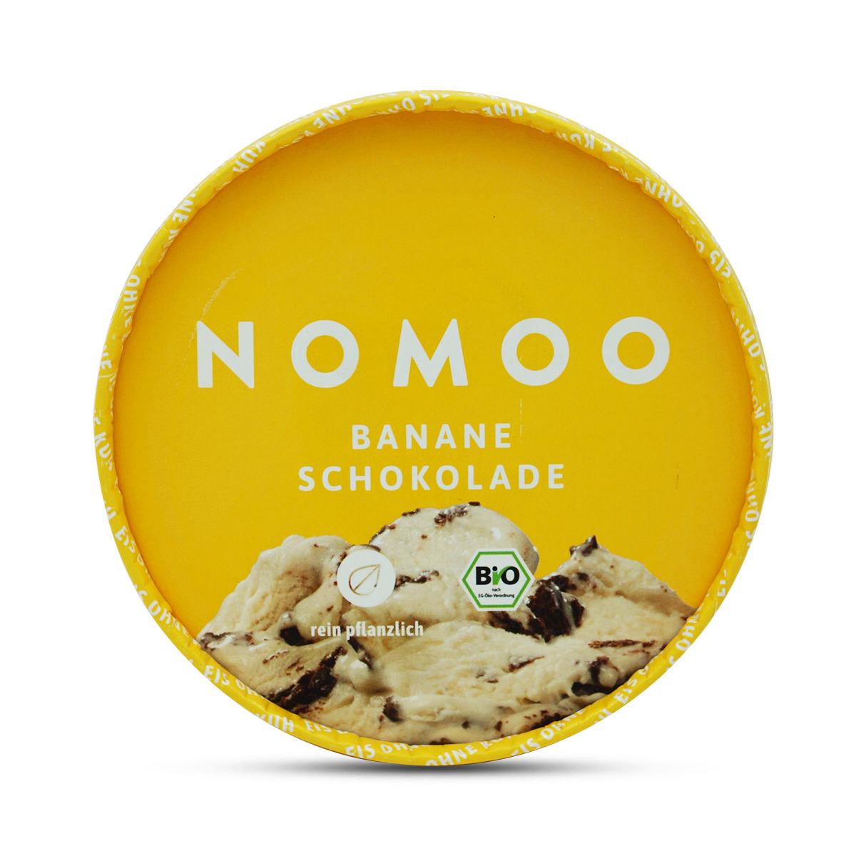 Nomoo Bananen-Schokoladeneis