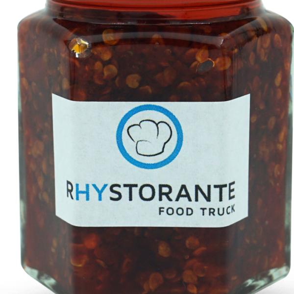 Rhystorante Food Truck Homemade Chilisauce (sehr scharf)