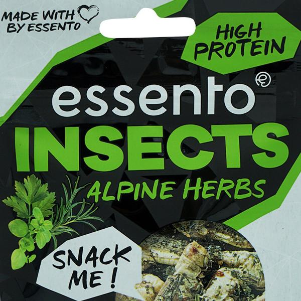 Essento Insect Snack - Alpine Herbs Locusta