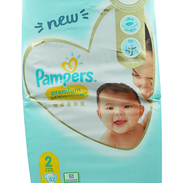 Pampers Premium Protection Mini Grösse 2,4-8kg 52 Stk.