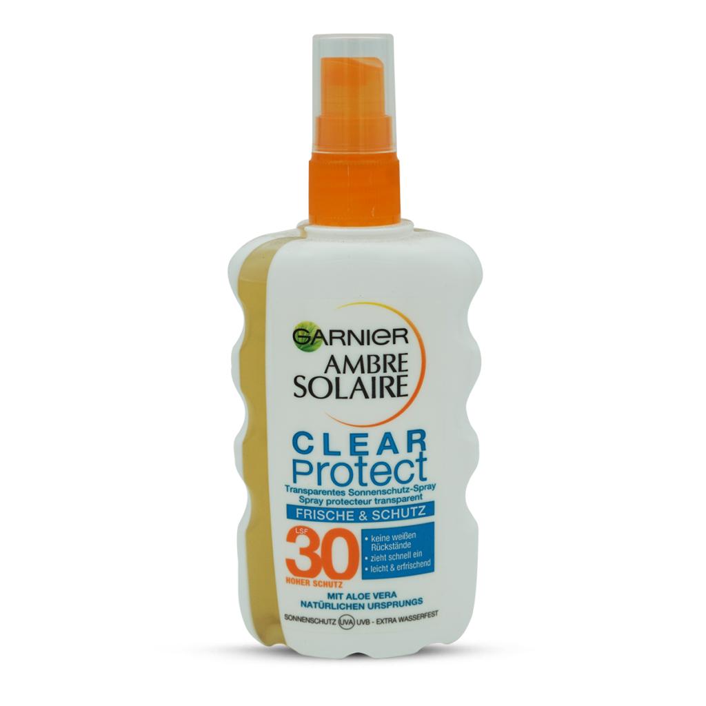 Ambre Solaire Sonnencreme Clear Spray SF30