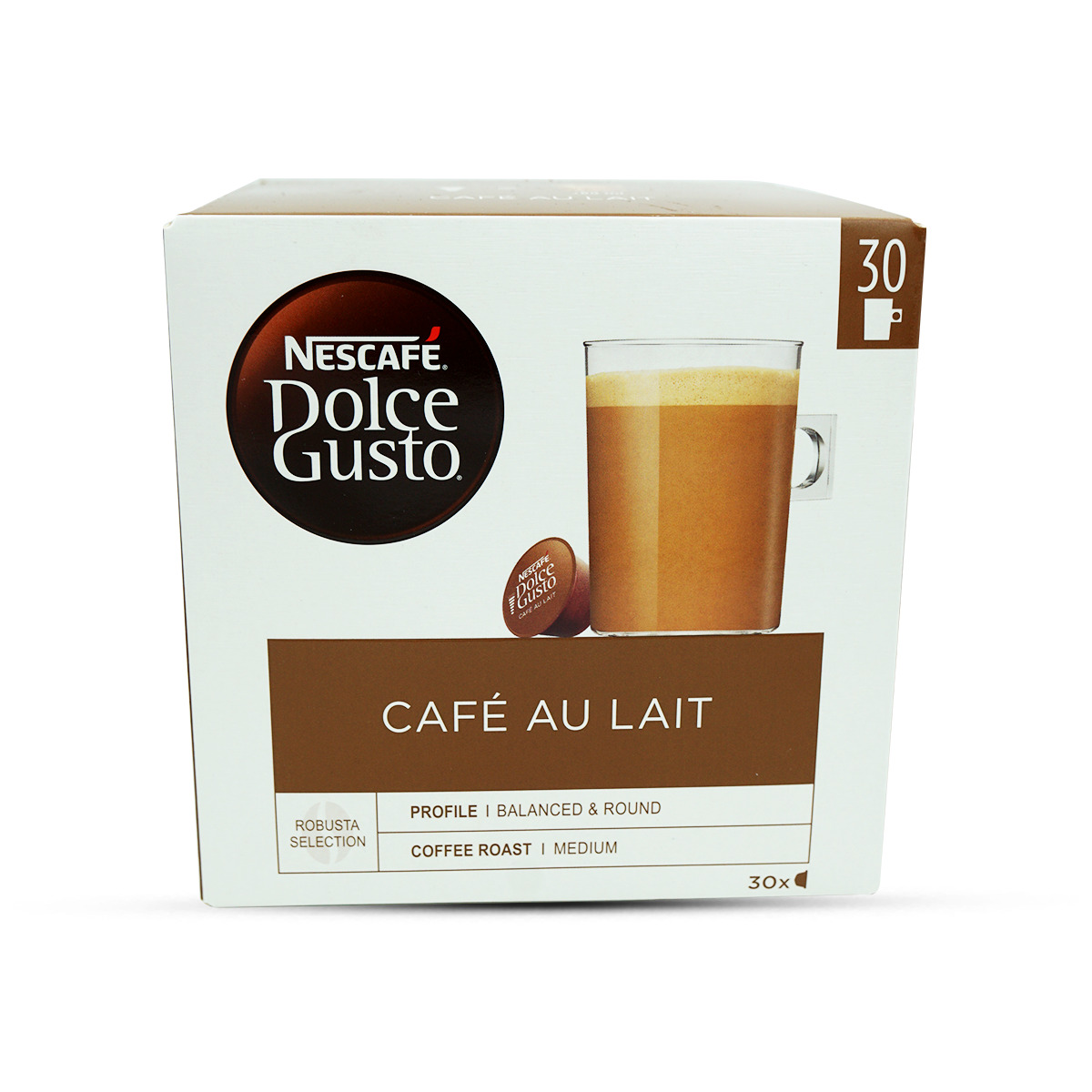 Nescafé Dolce Gusto Café au Lait Kaffeekapseln 30Stk.
