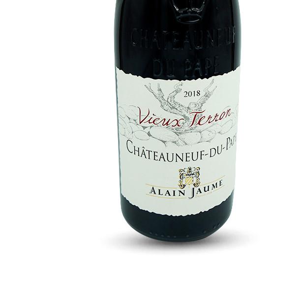 Vignobles Alain Jaume Châteauneuf du Pape Rouge - Vieux Terron AOP, Bio 2018