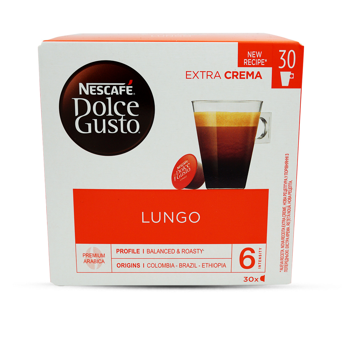 Nescafé Dolce Gusto Caffè Lungo 30Stk.