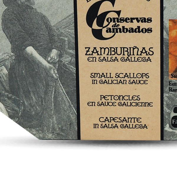 Jakobsmuscheln in Galizische Sauce