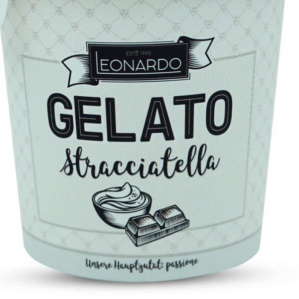 Leonardo Gelato Stracciatella