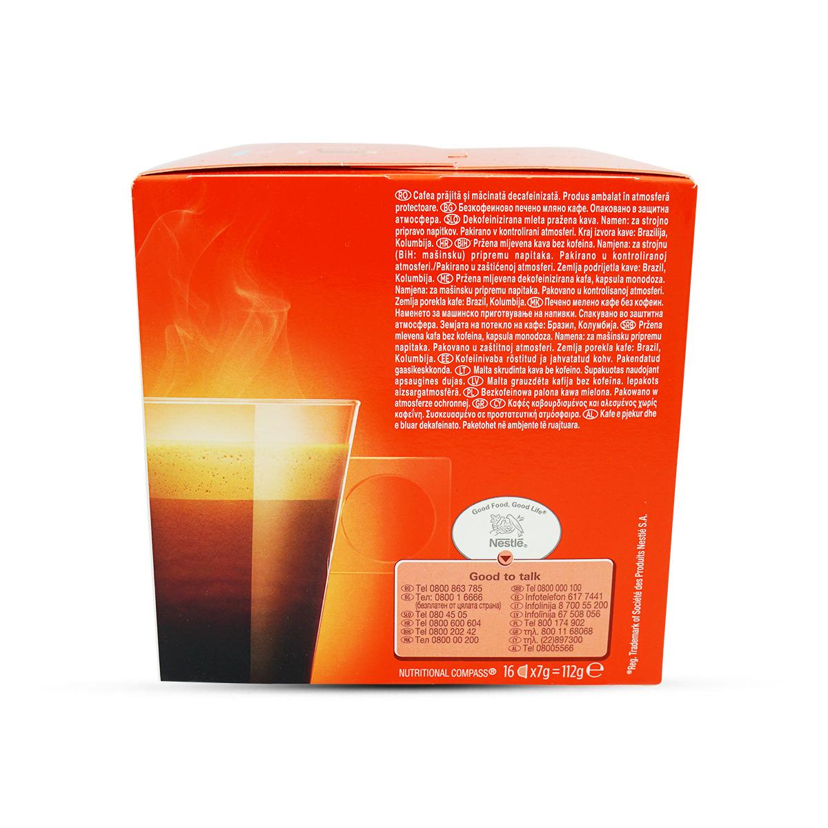 Nescafé Dolce Gusto Caffè Lungo koffeinfrei Kaffeekapseln 16Stk.