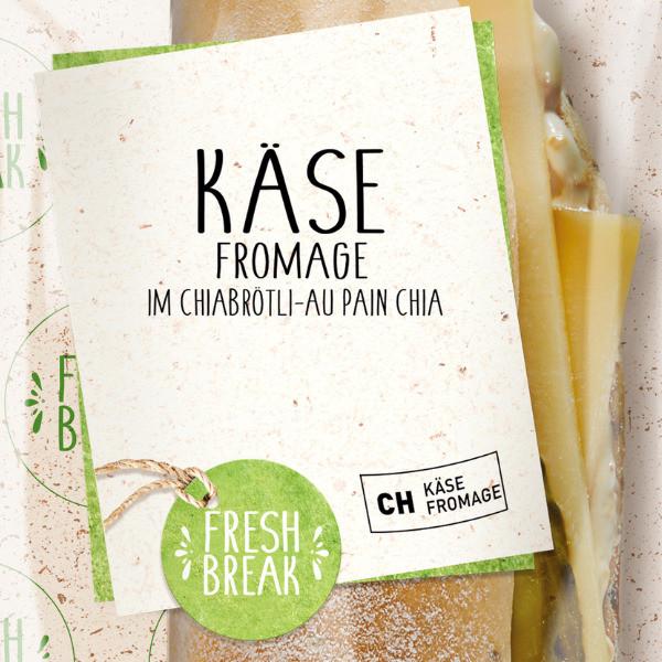 Chiabrötli Käse mit Senf