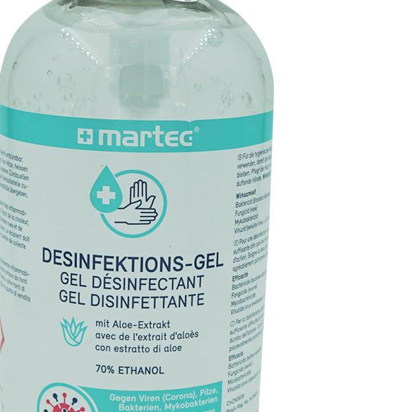 Hand-Desinfektionsgel mit Pumpe