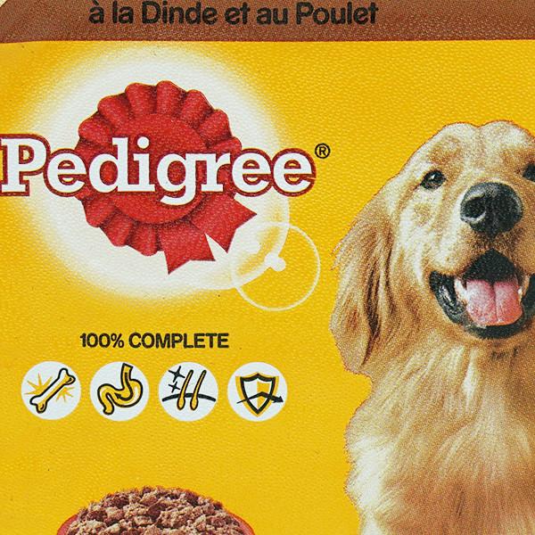 Pedigree Hundefutter Terrine Truthahn & Huhn