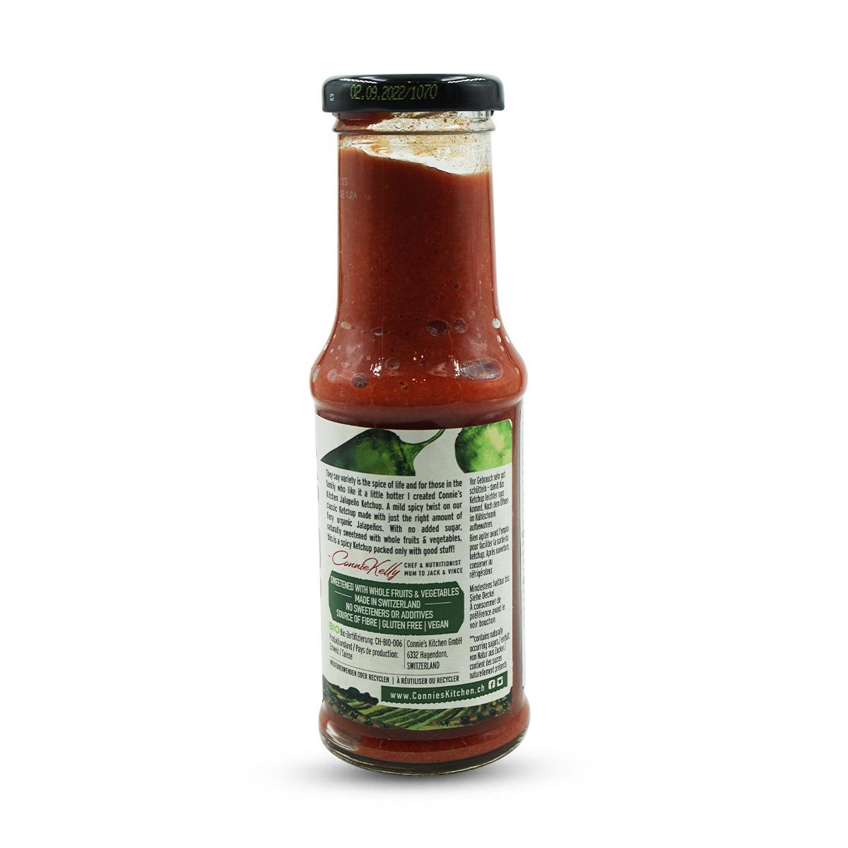 Connie's Jalapeño Bio Ketchup