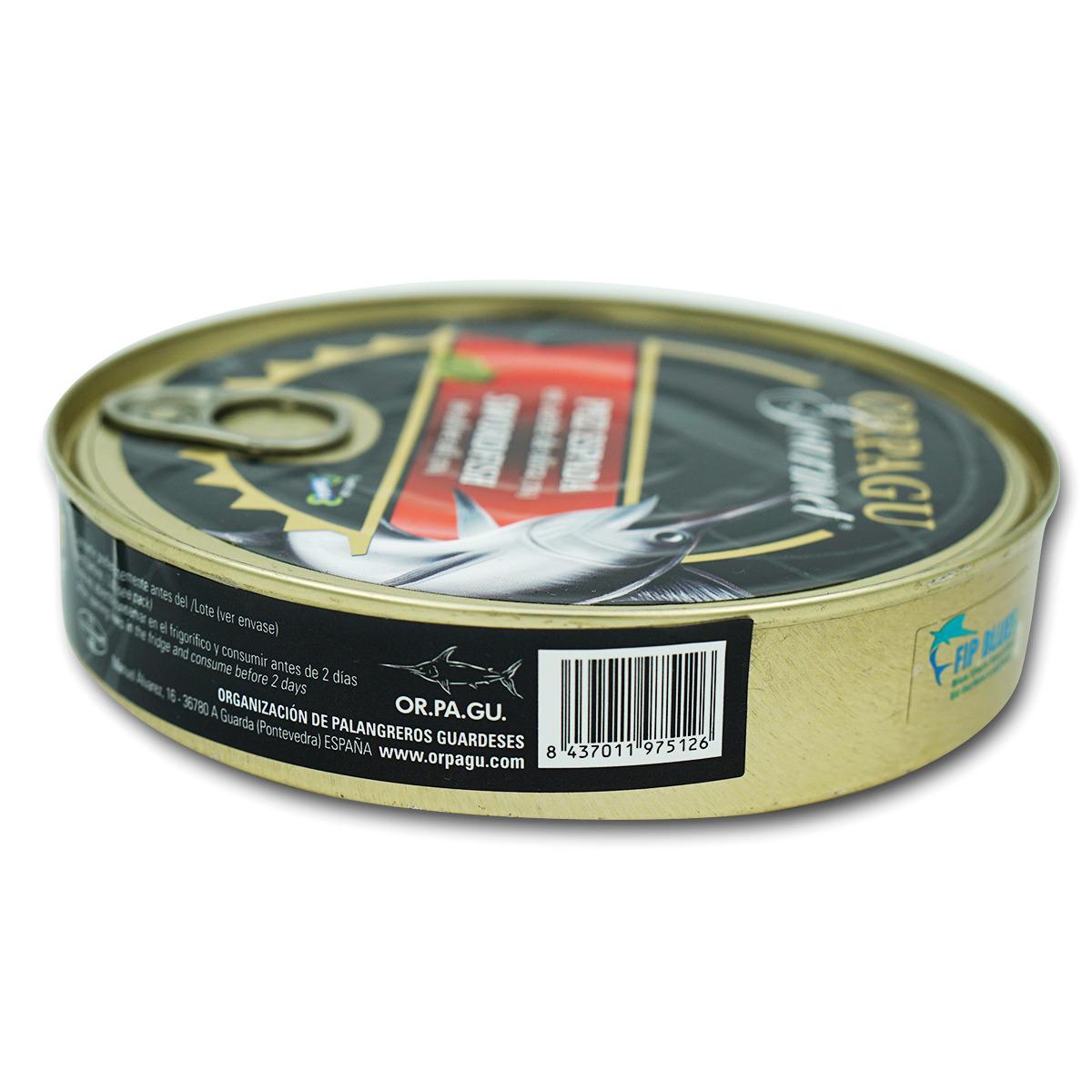 Schwertfisch Stücke in Olivenöl