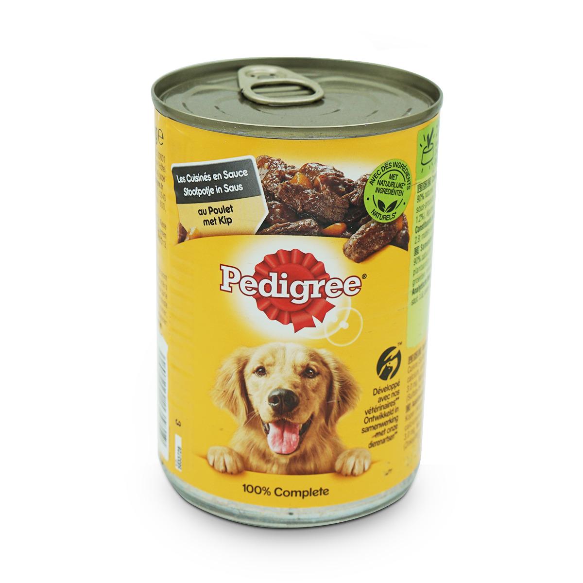 Pedigree Saftiges Hundefutter mit Poulet in Sauce
