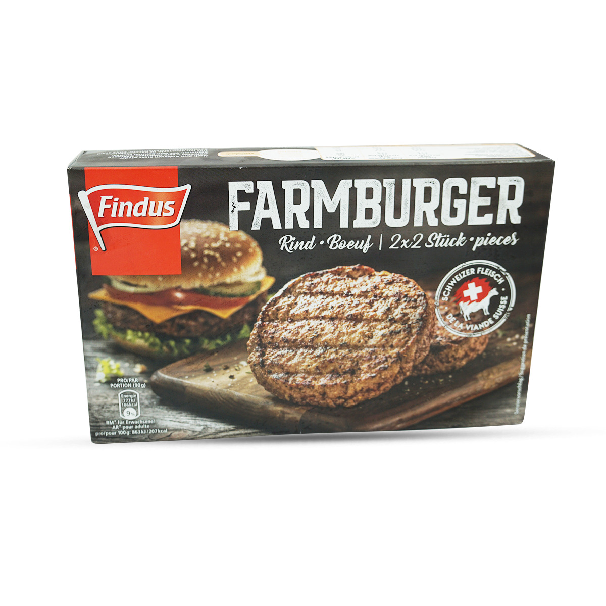 Findus Rinds-Farmburger