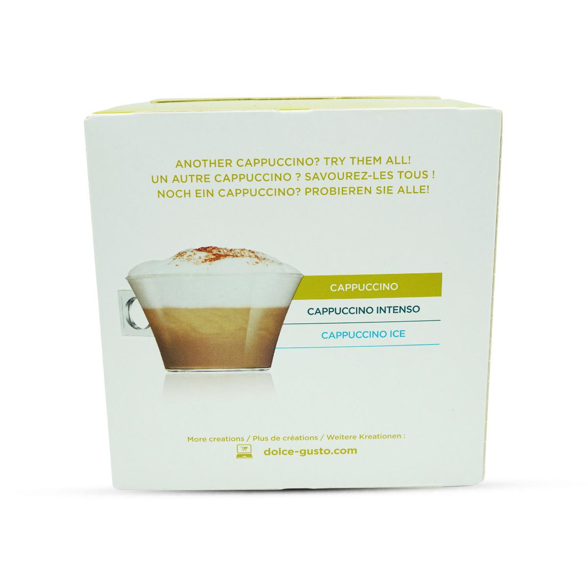 Nescafé Dolce Gusto Cappuccino Kaffeekapseln 15Stk.