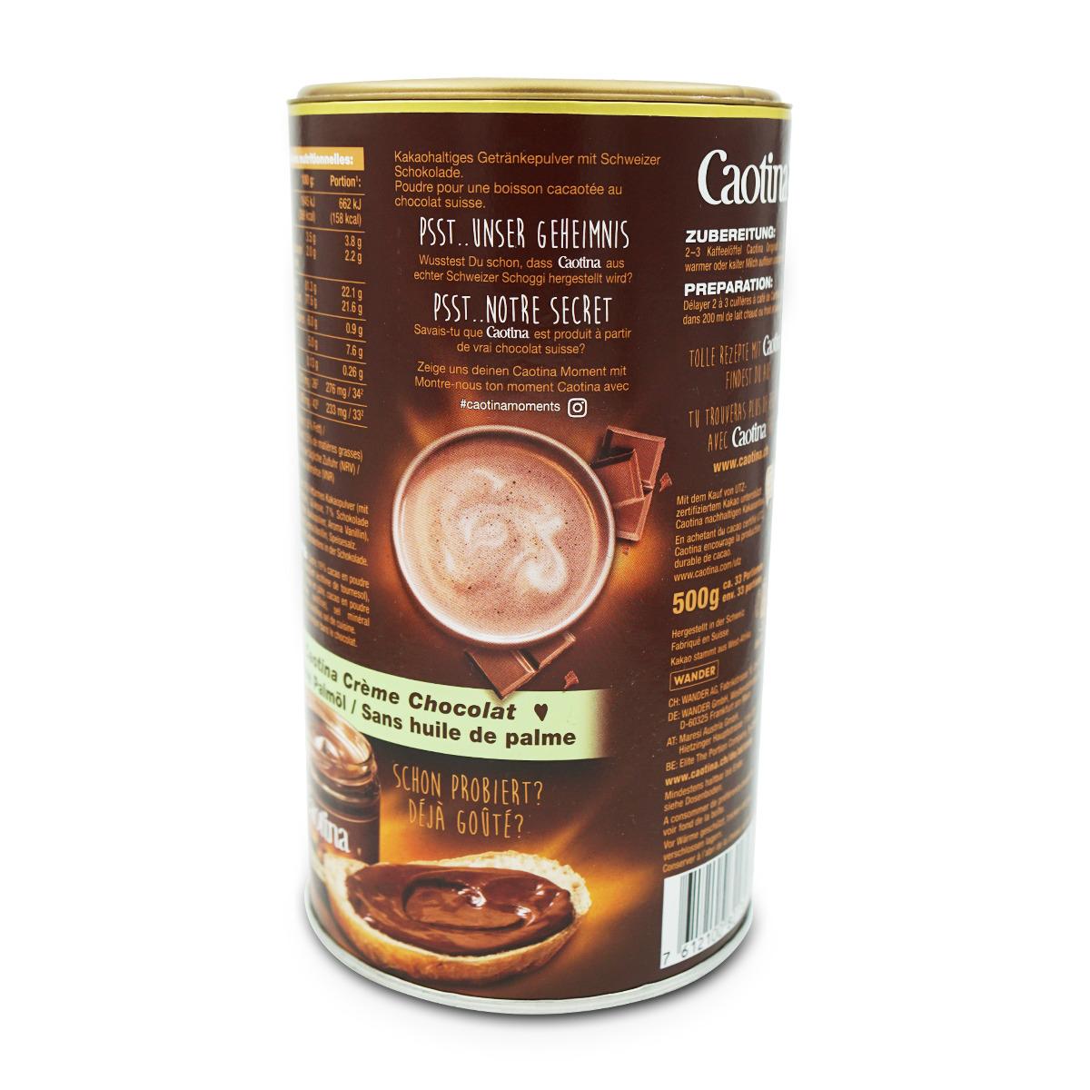 Caotina Original Schokoladenpulver