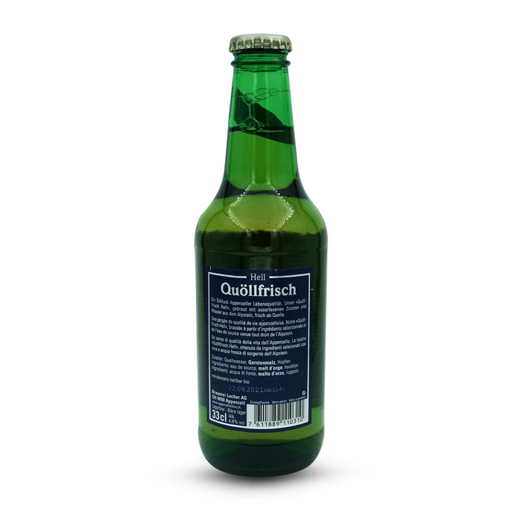 Appenzeller Quöllfrisch Bier