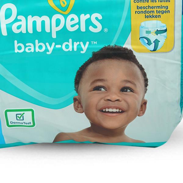 Pampers Windeln Baby Dry Junior Plus Grösse 5+, 36 Stk.