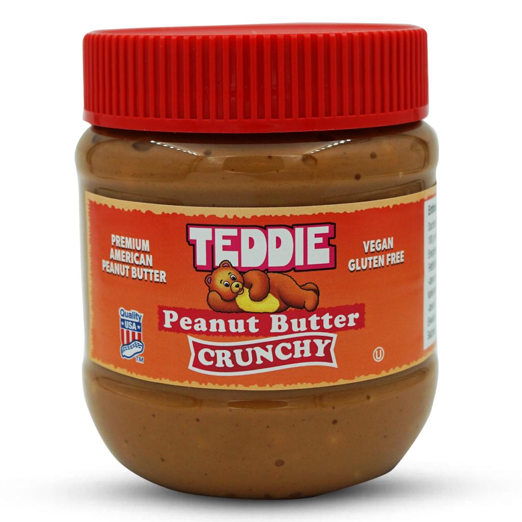 Teddie Erdnussbutter Crunchy