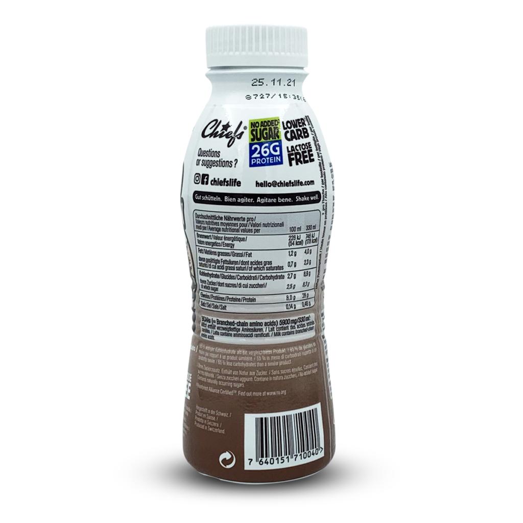 Chiefs Protein Milk Choco Mountain