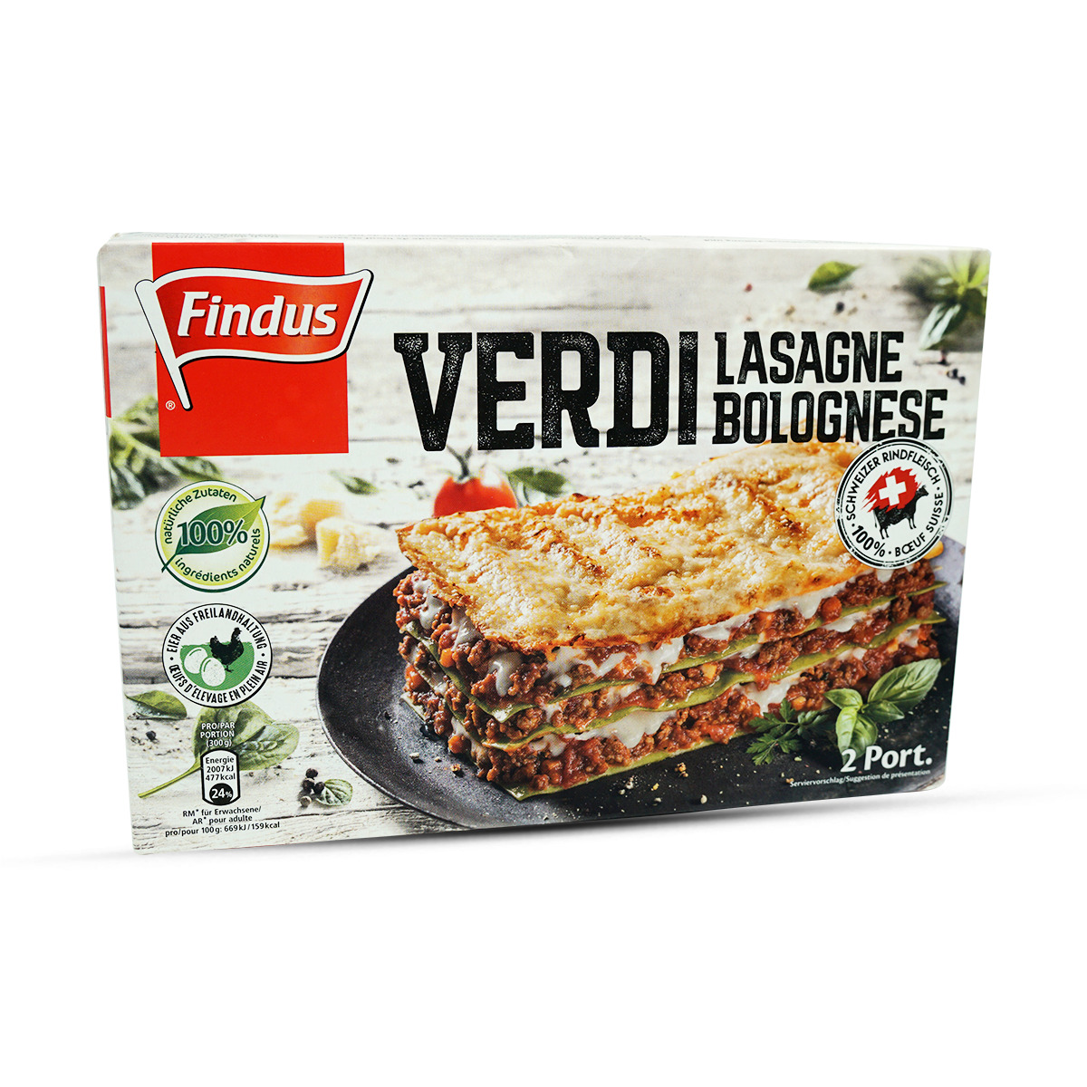 Findus Lasagne Verdi al Forno
