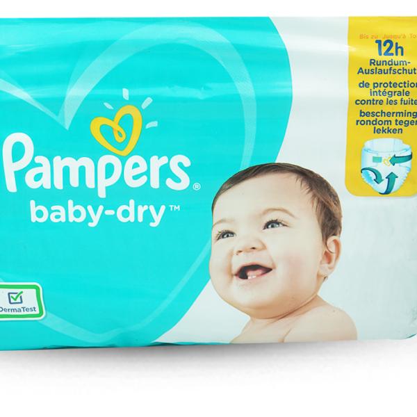 Pampers Baby Dry Maxi Plus Gr.4+ 10-15kg 42 Stk.