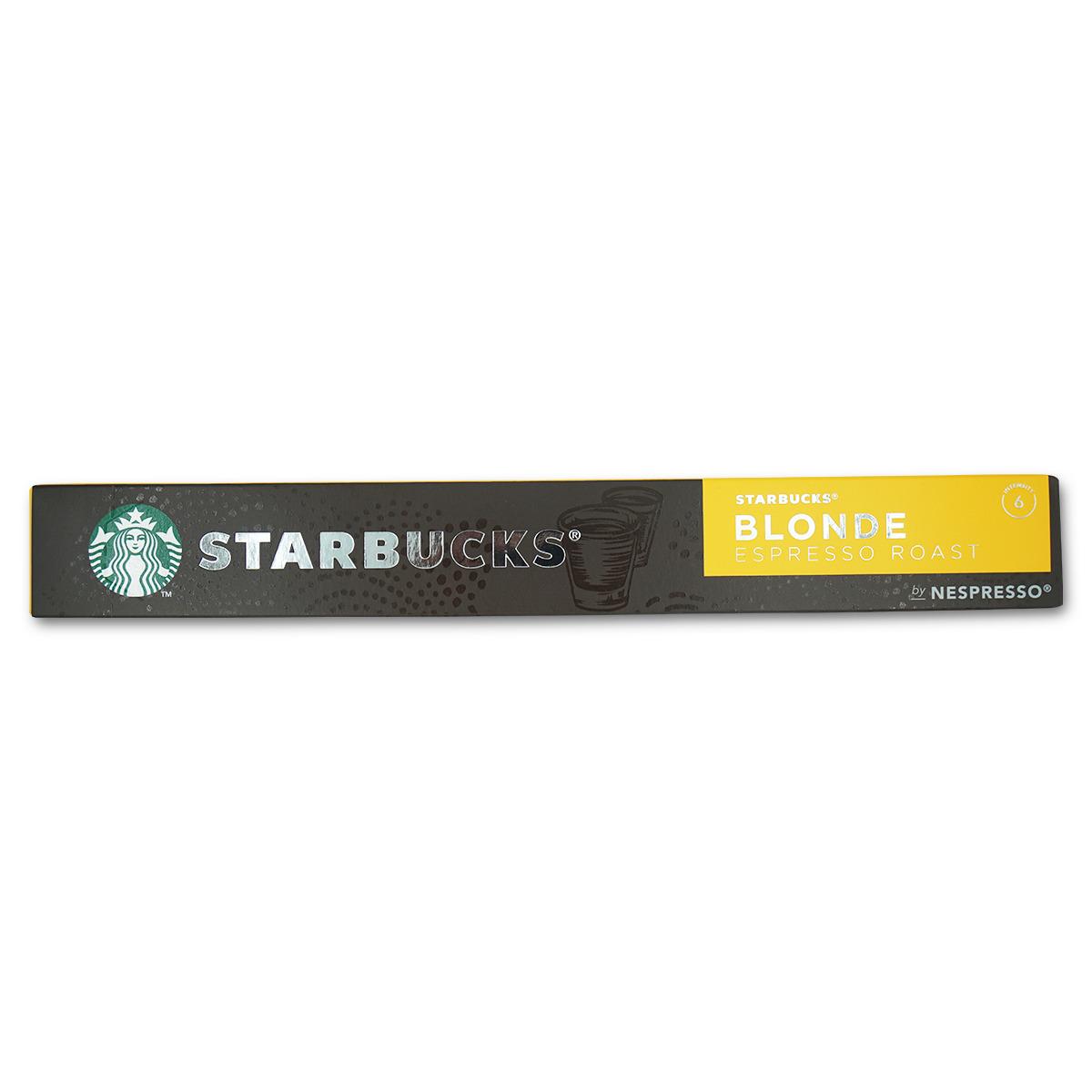 Starbucks Nespresso Blond Espresso 10 Kap.