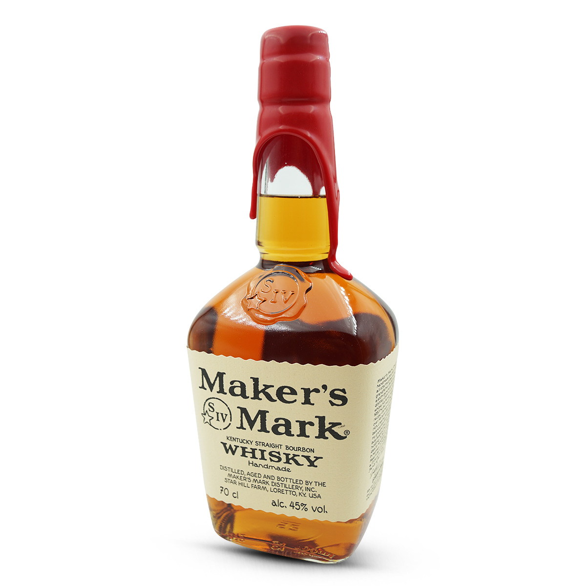 Maker's Mark Kentucky Straight Bourbon Whisky 45%
